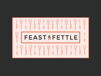 Feast & Fettle business card