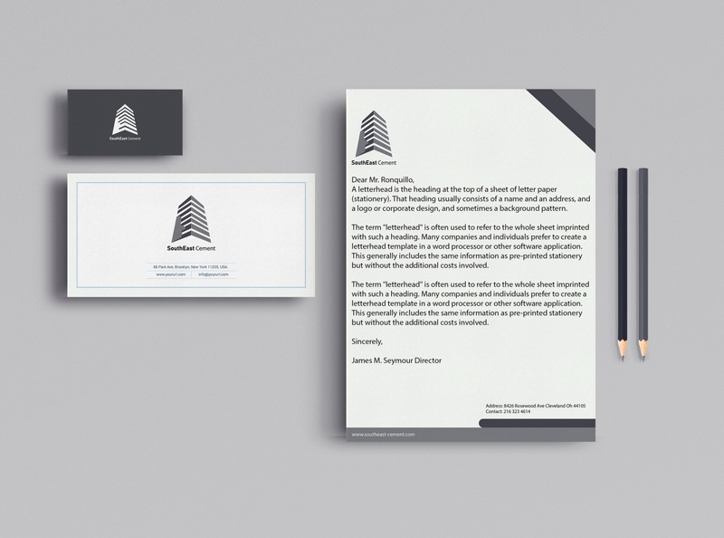 SouthEast Cement Brand Identity Design