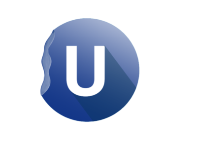 Round Letter Logo Design