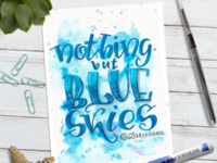 Nothing but blue skies 💙