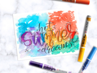Hot summer dreams 💙