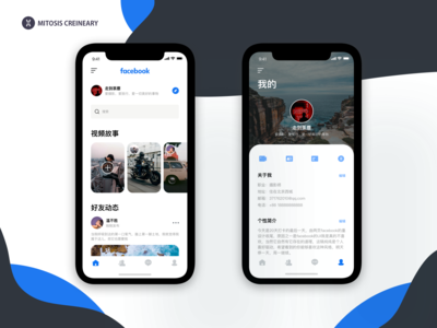 New Shot - Facebook redesign(Chinese)