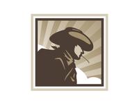 Cowboy concept logo