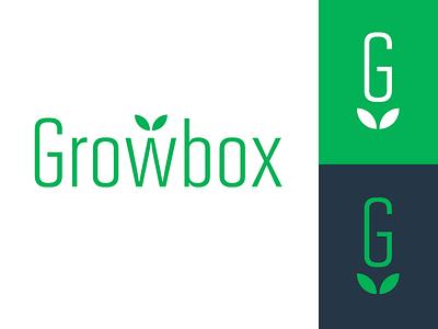 Gardening Logo identity branding design leaves leaf green logotype type logo gardening