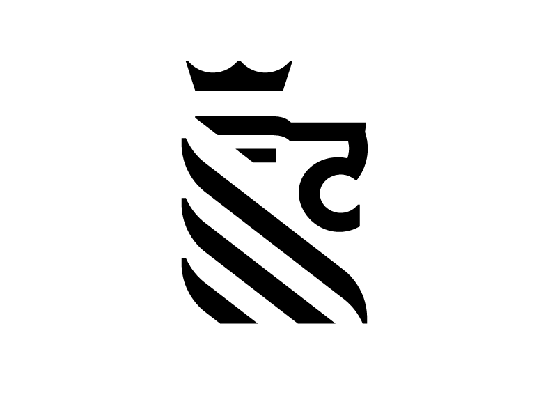 lion logo by carlos fernandez dribbble dribbble