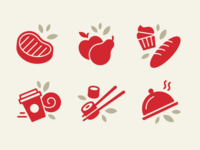 Grocery Store Icons