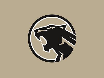 Logo exploration roar cougar design branding vector animal icon beer lion cat illustration logo