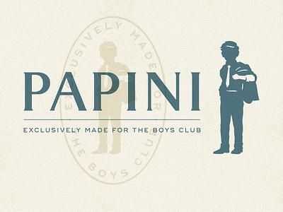 Clothing Boutique Logo identity badge character clothing tailor kid child people icon branding design illustration logo