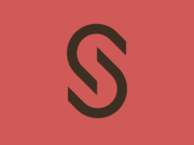 UX Logo identity simple technology monogram branding icon design logo