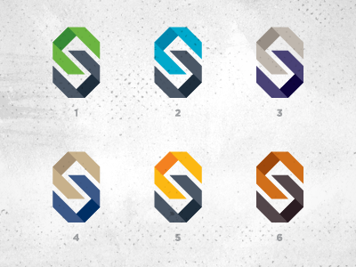 Which color do you prefer? logo letter c s advertising agency marketing chain choose cultural hispanic link colors