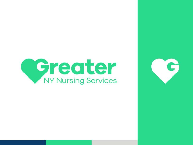 Healthcare Services Logo green icon simple healthcare logotype identity design branding logo