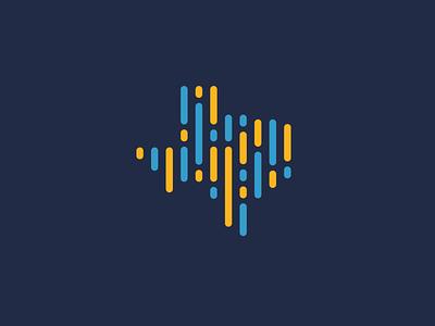 Nonprofit Organization Logo nonprofit simple branding design icon identity analytics data texas logo