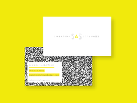Sabatini Stylings Business Cards