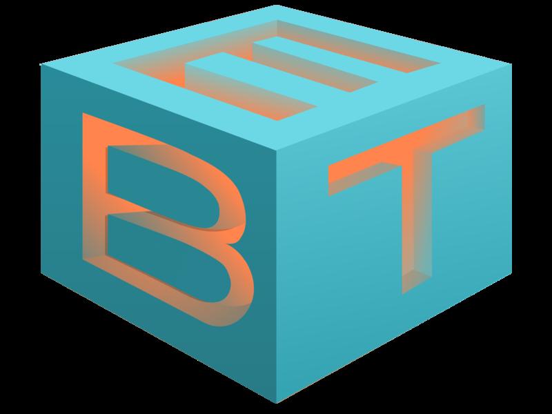 Initials Box vector ui branding design logo
