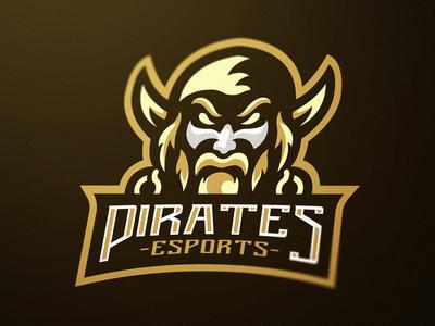 """""""Pirates"""" eSports Logo"""