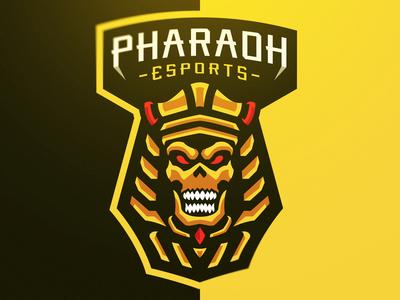 """""""Pharaoh"""" eSports Logo"""