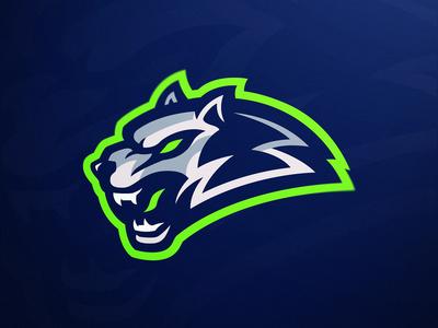 """Blue Wolves"" eSports Logo"