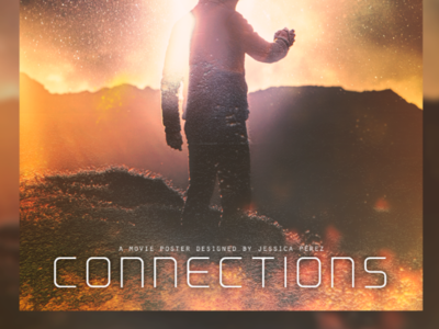 Connections / original movie poster design.
