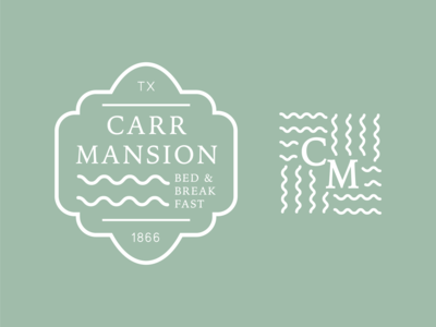 Carr Mansion Logo
