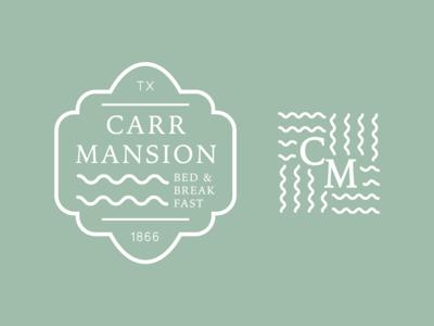 Carr Mansion Logo