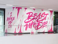 Beast Mode mural
