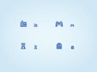 Game icon x 4