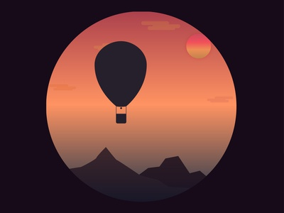 Hot Air Balloon Exp-02