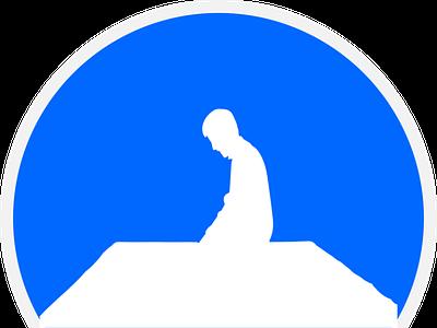 Shalat illustraion icon symbol salat sholat solat shalat