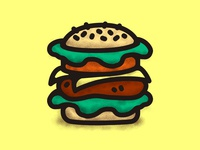 Burger Scribble