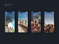Explorgo Splash Sequence