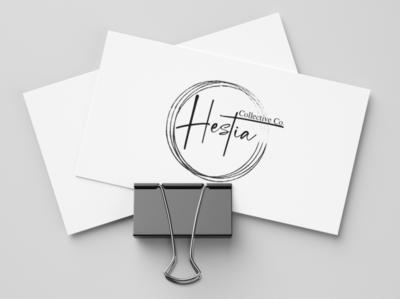 Hestia Logo sketch logo design logo design branding brand