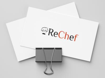 ReChef Logo sketch logo design logo design branding brand