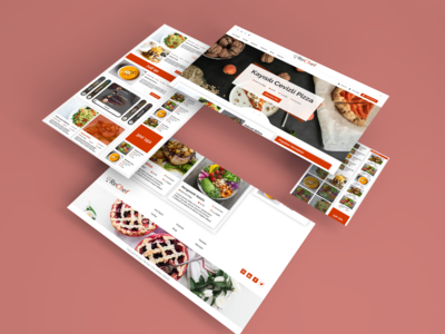 ReChef Web Design website design website web design web webdesign branding sketch design brand