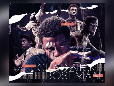 Rest in Power, Chadwick tribute rip black panther chadwick boseman type photoshop graphic design design typography