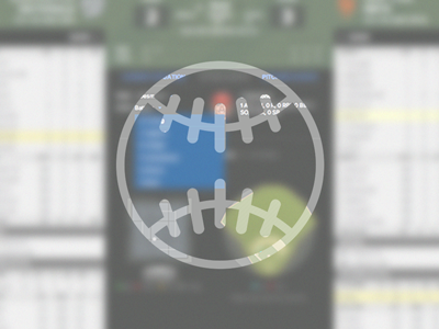 Gametracker mock dribbble