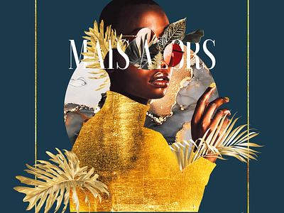 • mais alors • photoshop typography black beauty en francais illustration digital art graphic design design