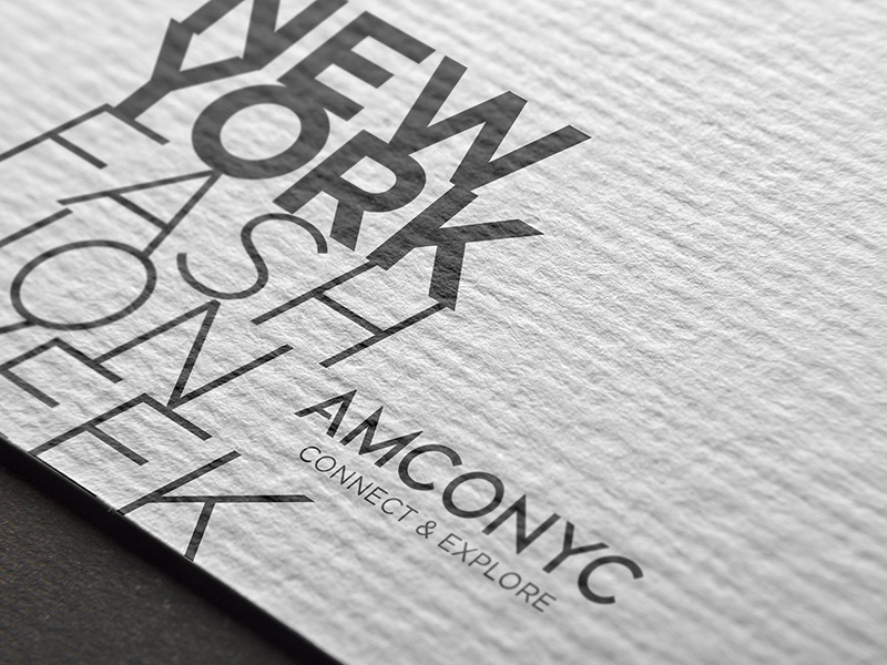 AMCONYC Rebrand / Flyers photo manipulation flyer design amconyc nyc typography graphic design fashion branding