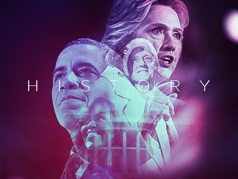 History america typography digital art presidency bill clinton michelle obama politics history election usa barack obama hillary clinton