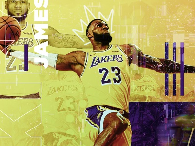 LBJ / 23 23 lebron james sports king james basketball sports graphics lakers la lakers typography graphic design lebron nba