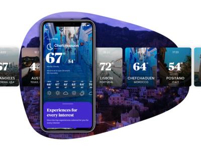 Weather Plans app