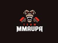 TEAM MMAUPA - MMA Fighter logo