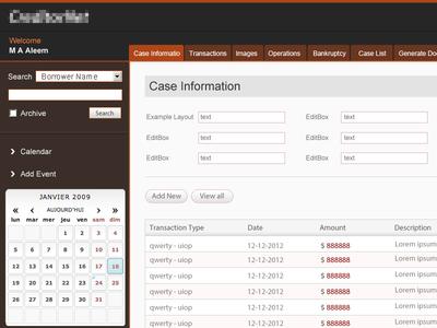 UI - web app ui web app interface design web application