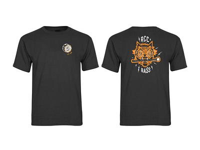 RCC 2020 Bassline T-Shirt art design typography tigers tiger tshirt design tshirt apparel percussion bassdrums drums drummers bassline bass