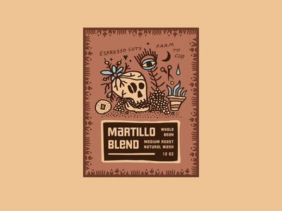 Espresso Cuts / Coffee Packaging labels coffee labels roots latin mexican plants hearts skulls cuts espresso farm to cup coffee shop illustration typography packaging packagingdesign branding coffee coffee packaging