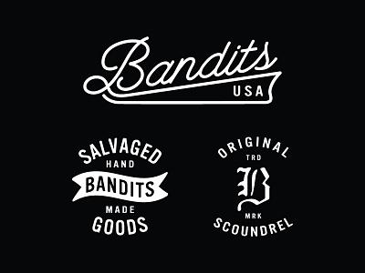 Bandits branding badge mark logo certified original scoundrel bandits