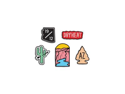 Arizona Collection / Enamel Pins
