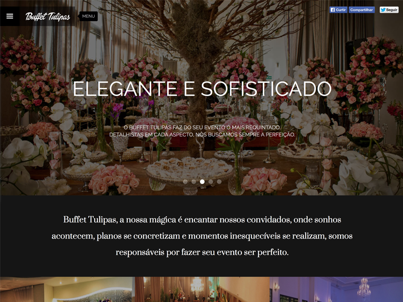 Buffet Tulipas layout buffet responsive clean