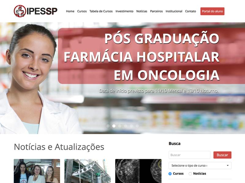 IPESSP - Instituto de Pesquisa e Educação em Saúde de São Paulo education website courses