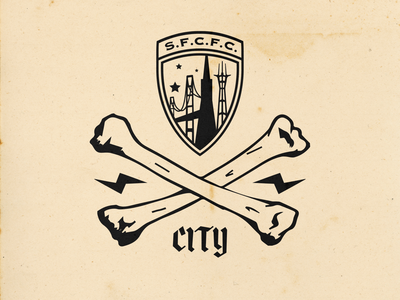 Jolly City Rodgers shirt branding soccer badge soccer crest soccer logo soccer san francisco sf city sfcityfc