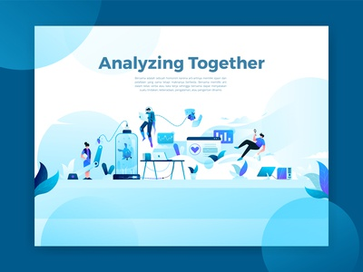 Analyzing Together Illustration
